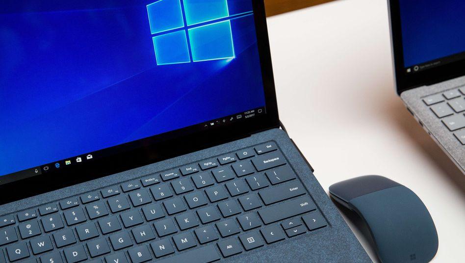 Verwundbar: Microsoft Surface mit Windows 10
