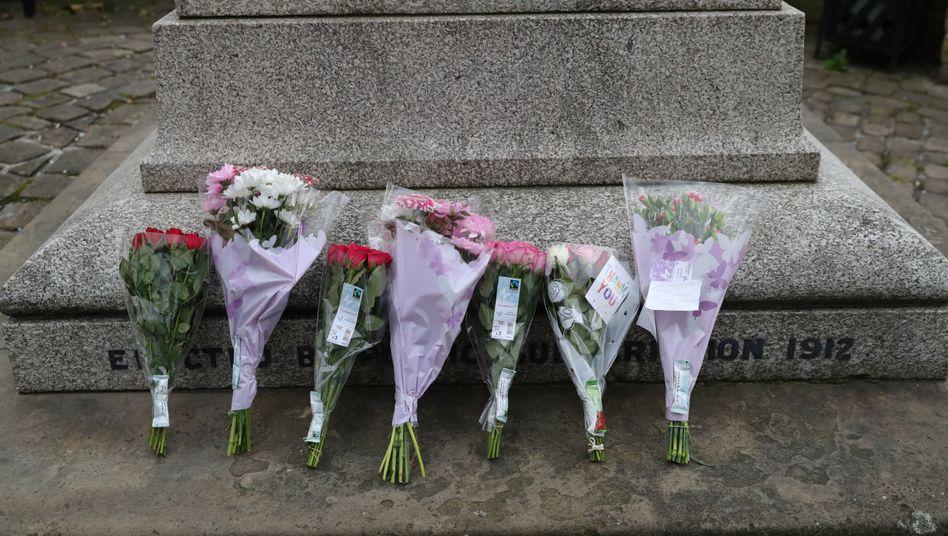 Blumen auf dem Market Square