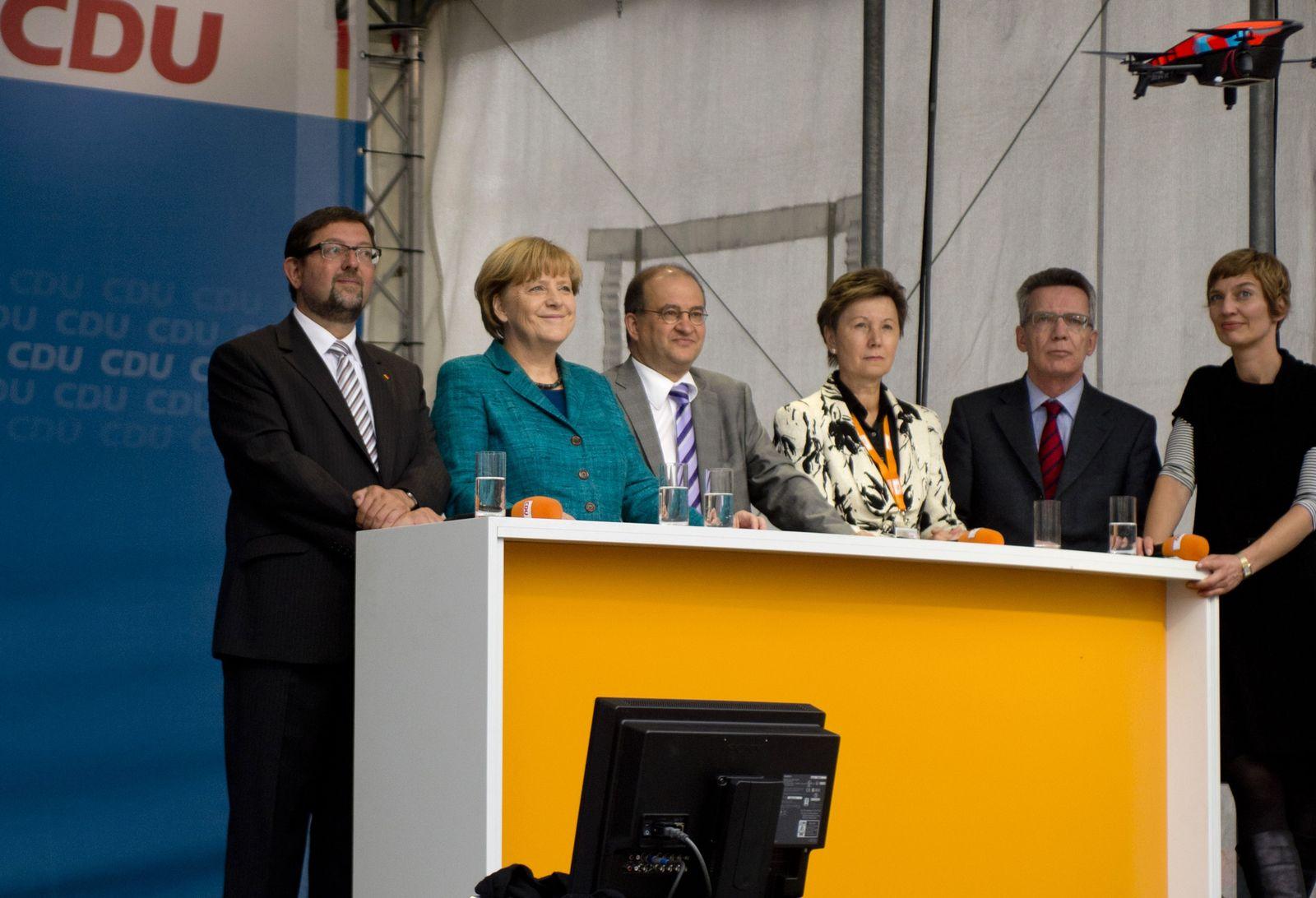 Merkel drone