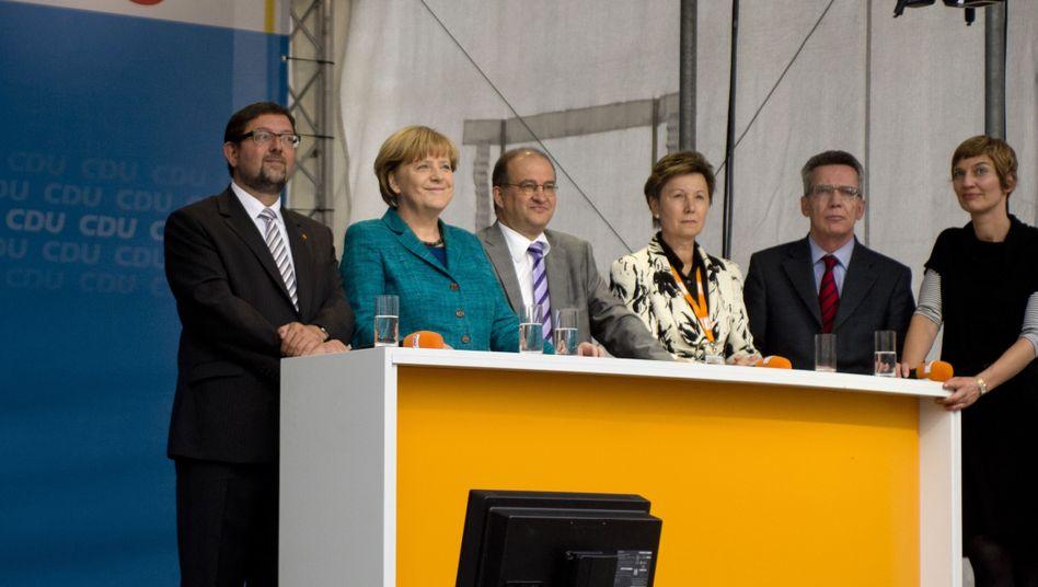 Angela Merkel Drone