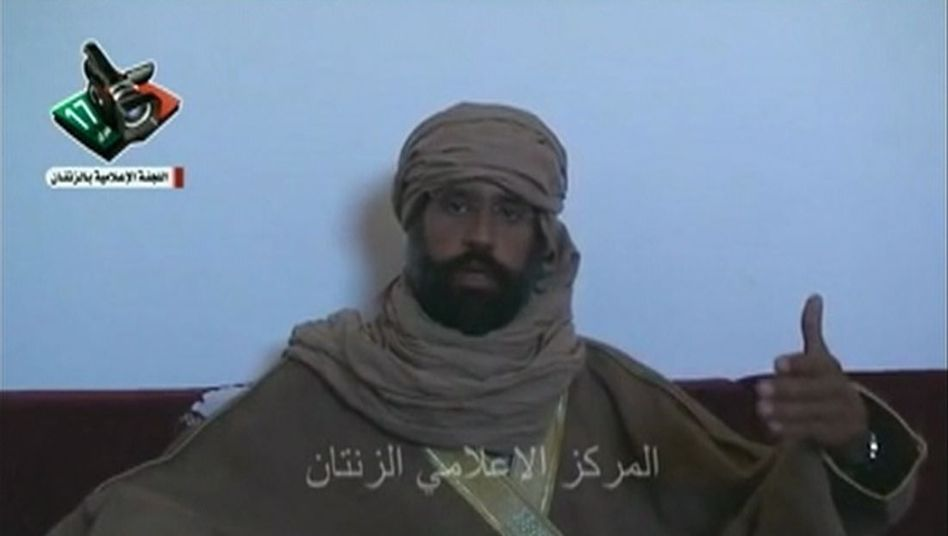 Gaddafi-Sohn Saif al-Islam (im November 2011): Prozessauftakt festgelgt