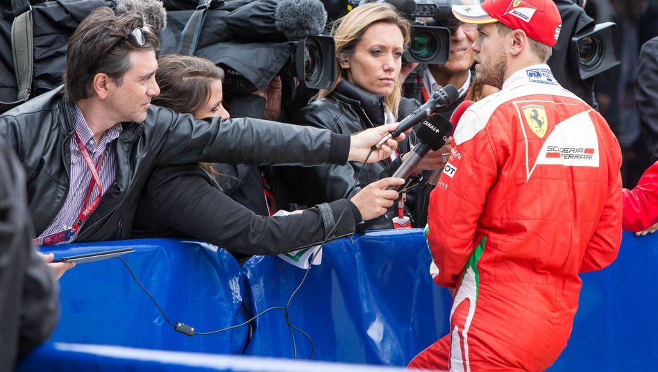 Ferrari-Fahrer Sebastian Vettel