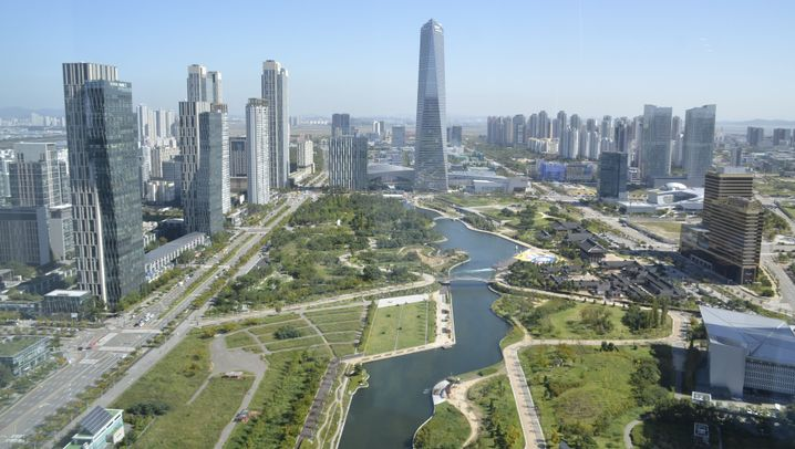 """""""Smart City"""" Songdo: Die grüne Insel-Utopie"""
