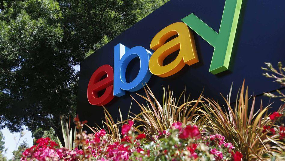 Ebay-Logo (in San Jose): Online-Bewertungen sind ein heikles Thema
