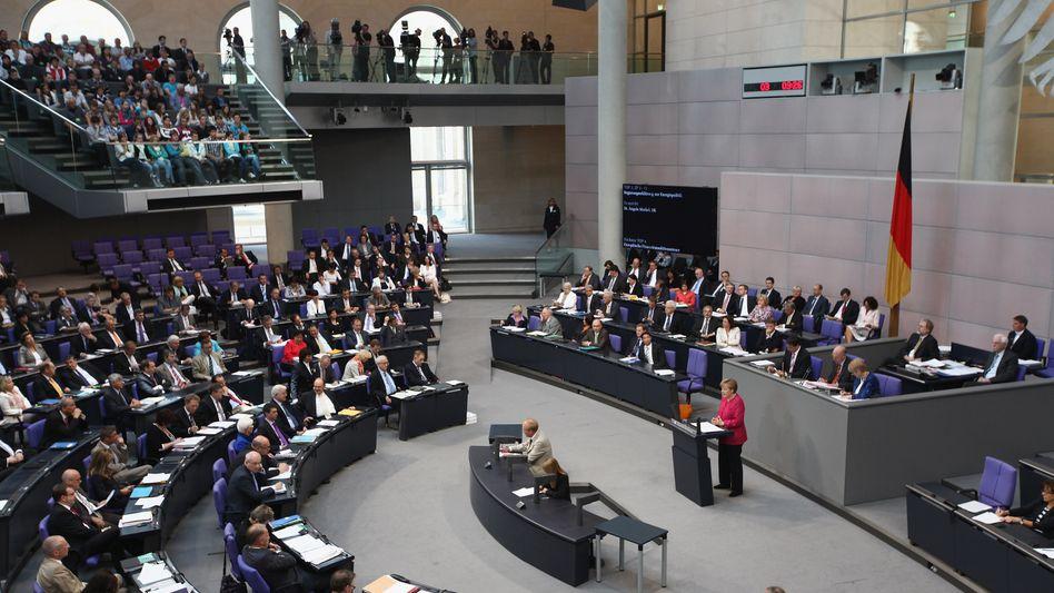 """Deutscher Bundestag: """"Moderate Erhöhung der Diäten"""" geplant"""