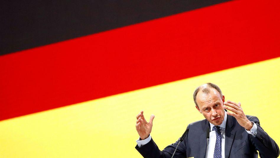 Friedrich Merz (beim CDU-Parteitag im Dezember 2018 in Hamburg)