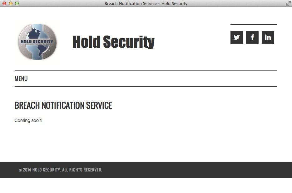 NUR ALS ZITAT Screenshot Hackerangriff