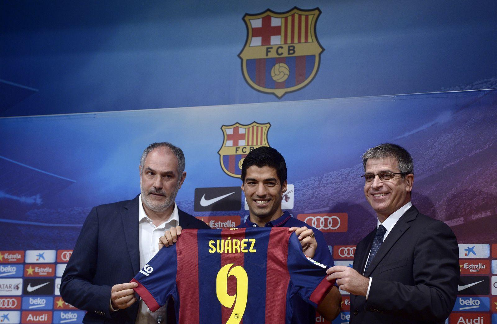 Luis Suarez, Jordi Mestre, Andoni Zubizarreta