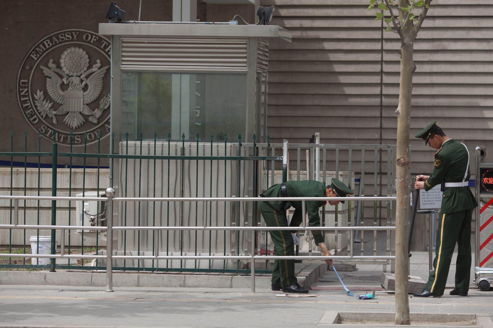 Chen Dissident US-Botschaft Peking