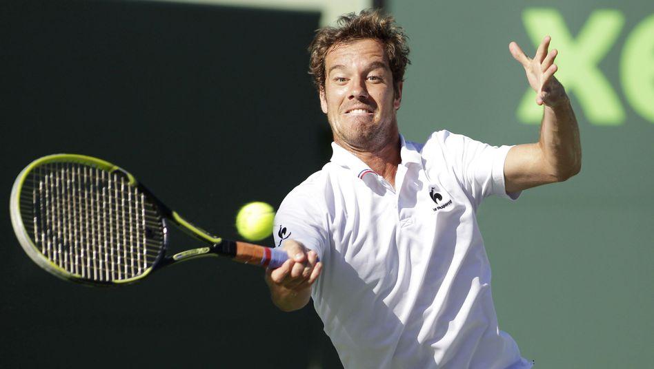 Tennisprofi Gasquet: Nicht in Nancy am Start