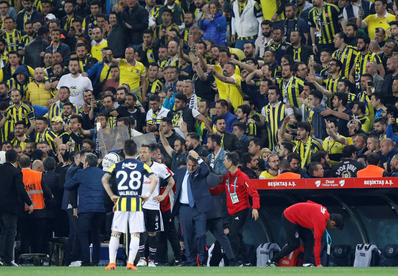 SOCCER-TURKEY/ABANDONMENT