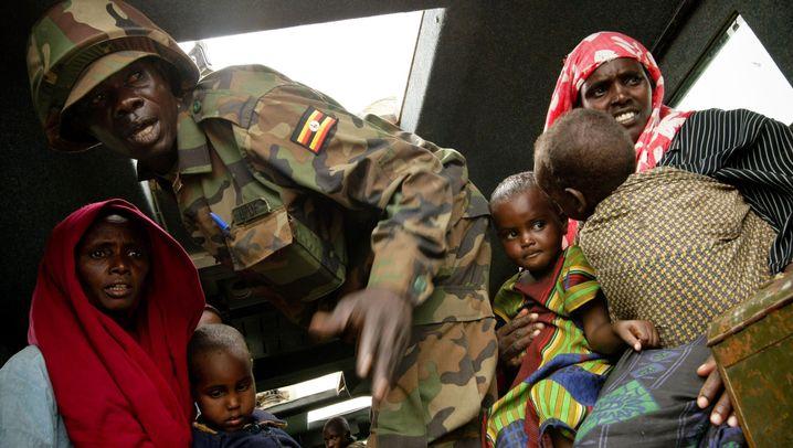 Ostafrika: Lage verzweifelt, Lager überfüllt