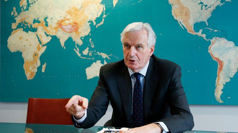"EU-Binnenkommissar Barnier: ""Zuerst die Aktionäre"""