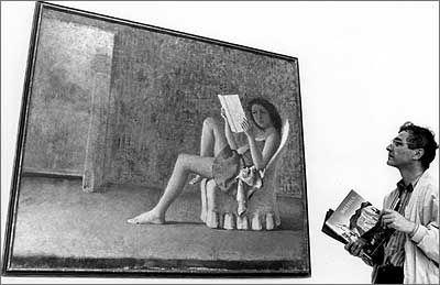 Junge Mädchen: Balthus' Markenzeichen.