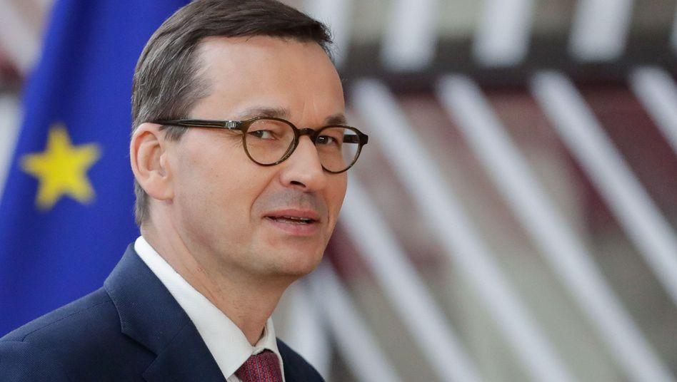 Polens Regierungschef Morawiecki: Ohne mehr EU-Geld keine neuen Klimaschutzziele