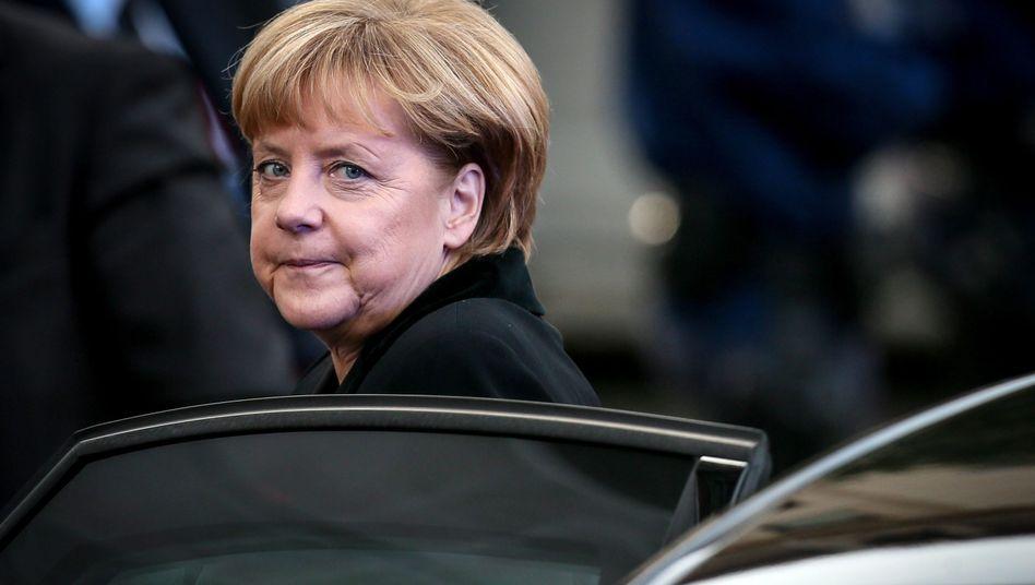 Angela Merkel: Die Kanzlerin will mehr Macht für die EU