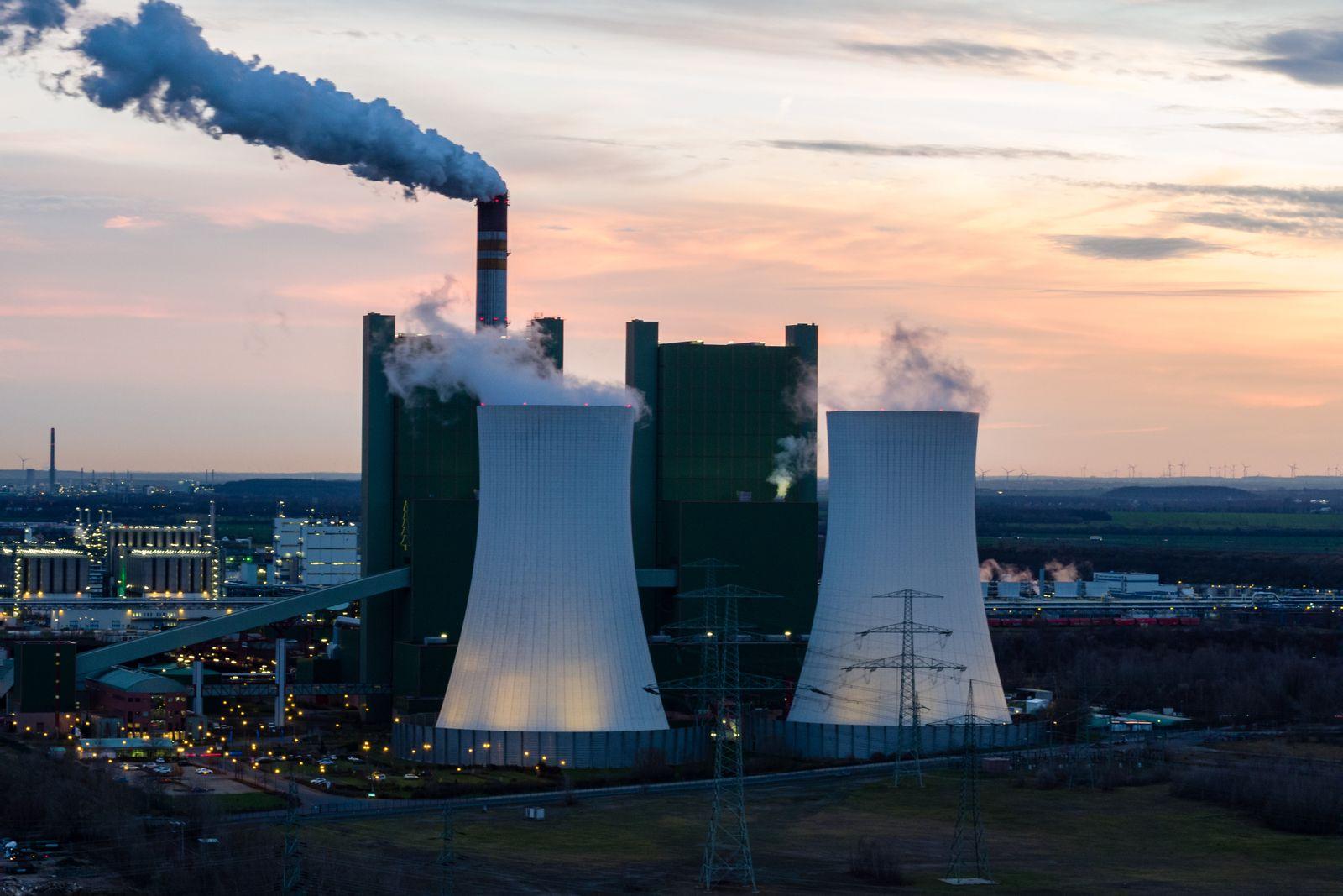 Kohlekraftwerk Schkopau