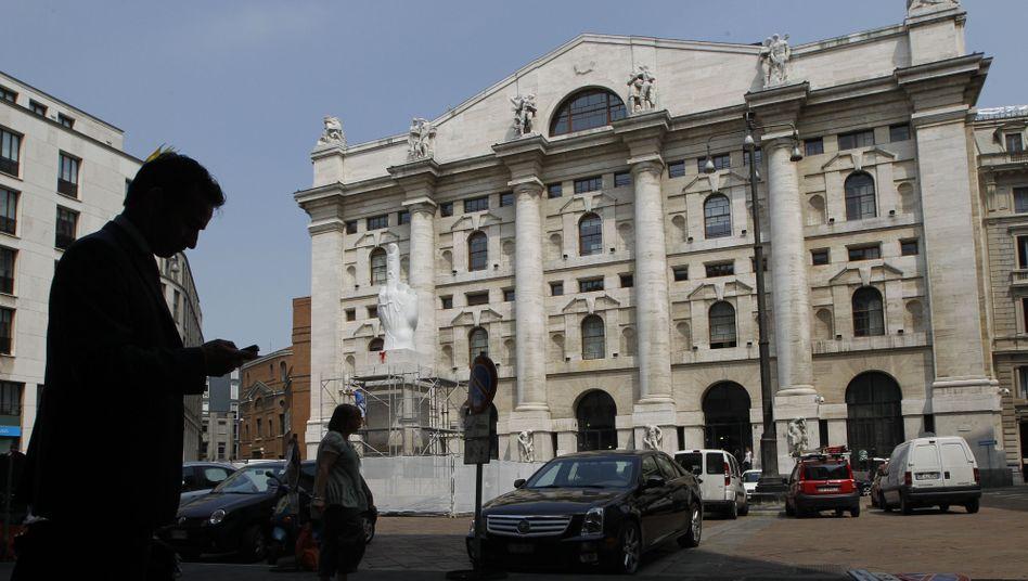 Börse in Mailand