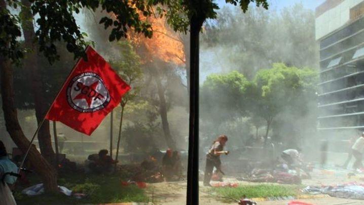 Türkei: Anschlag in Suruc, Wut auf Erdogan