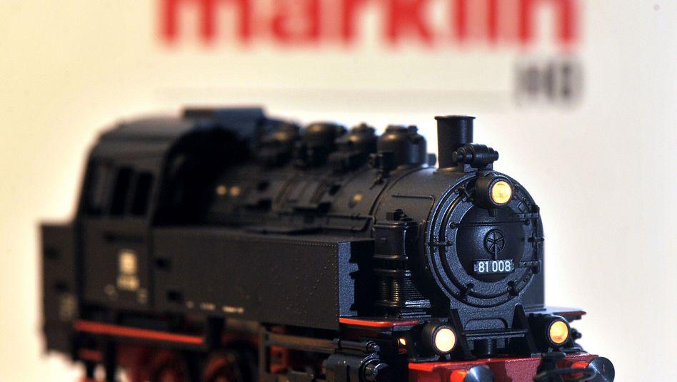 Modelllokomotive der Firma Märklin: Wieder auf Kurs