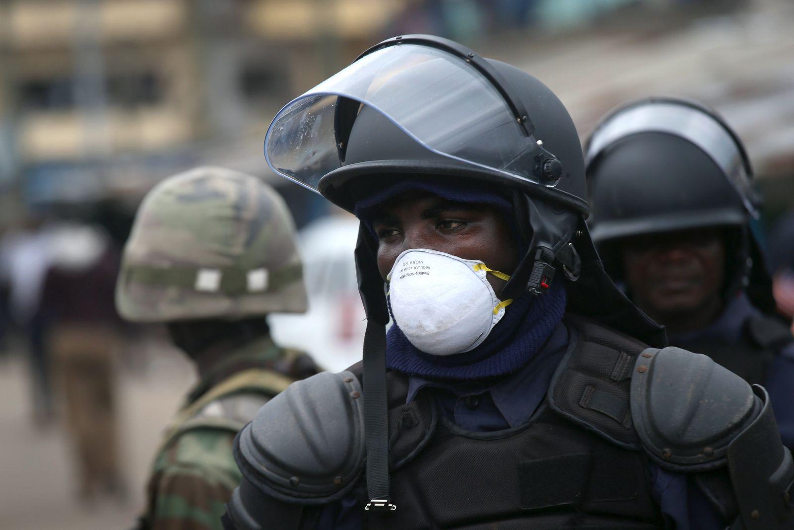 Liberia/Ebola/Monrovia/Armee