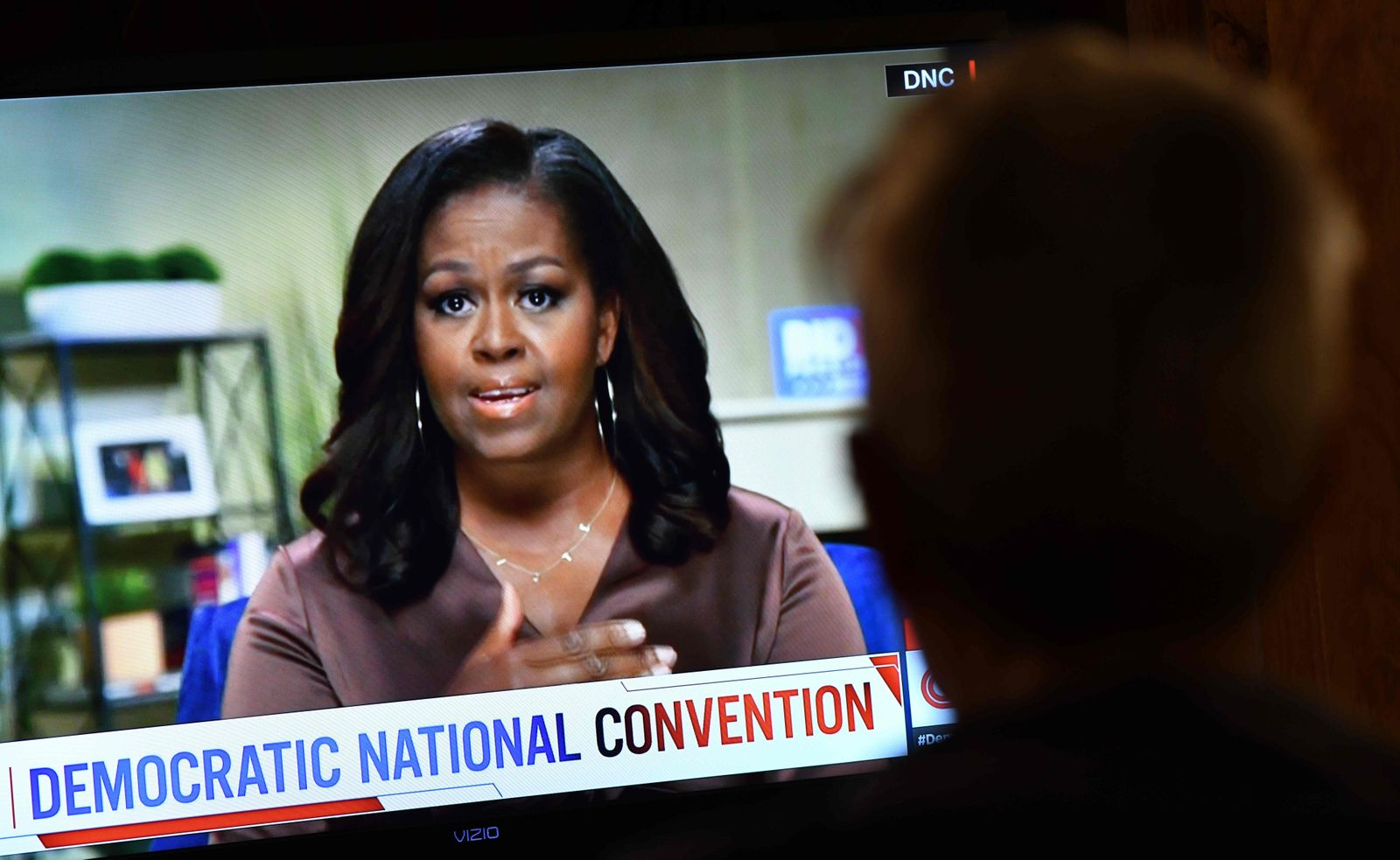 Michelle Obama, Bernie Sanders speak on first day of Democratic National Convention