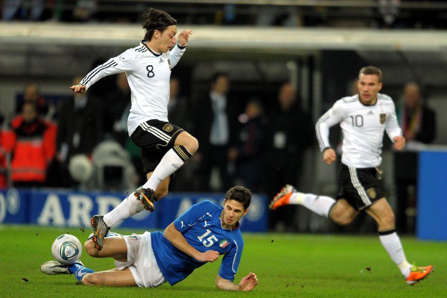 Deutschland Italien Spielbeginn