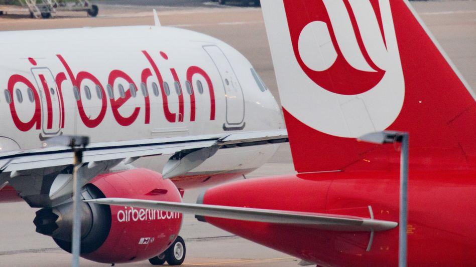 Flugzeuge von Air Berlin (Archivbild von 2017)