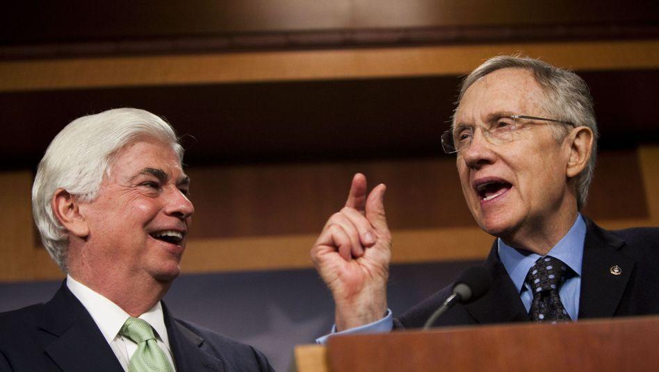 Senatoren Dodd, Reid: Freude über das beschlossene Reformprojekt