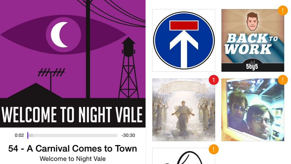 Podcast-App auf einem Smartphone: Einfach Hörsendungen für unterwegs abonnieren