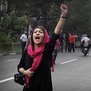 """Demonstrantin in Teheran: """"Allein die Sache des iranischen Volkes"""""""