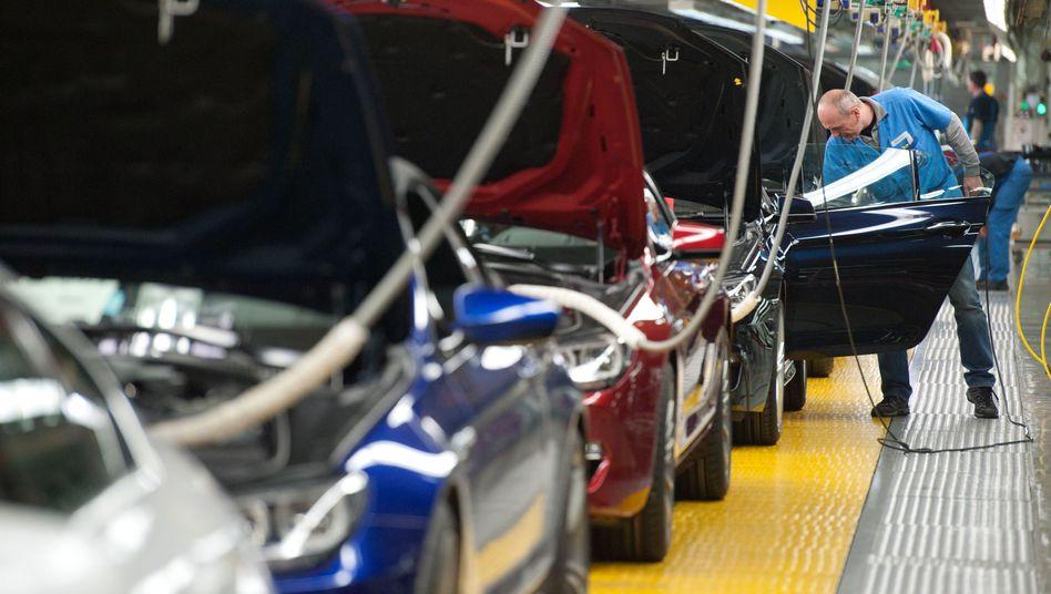 BMW-Werk in Dingolfing: Boom im Ausland