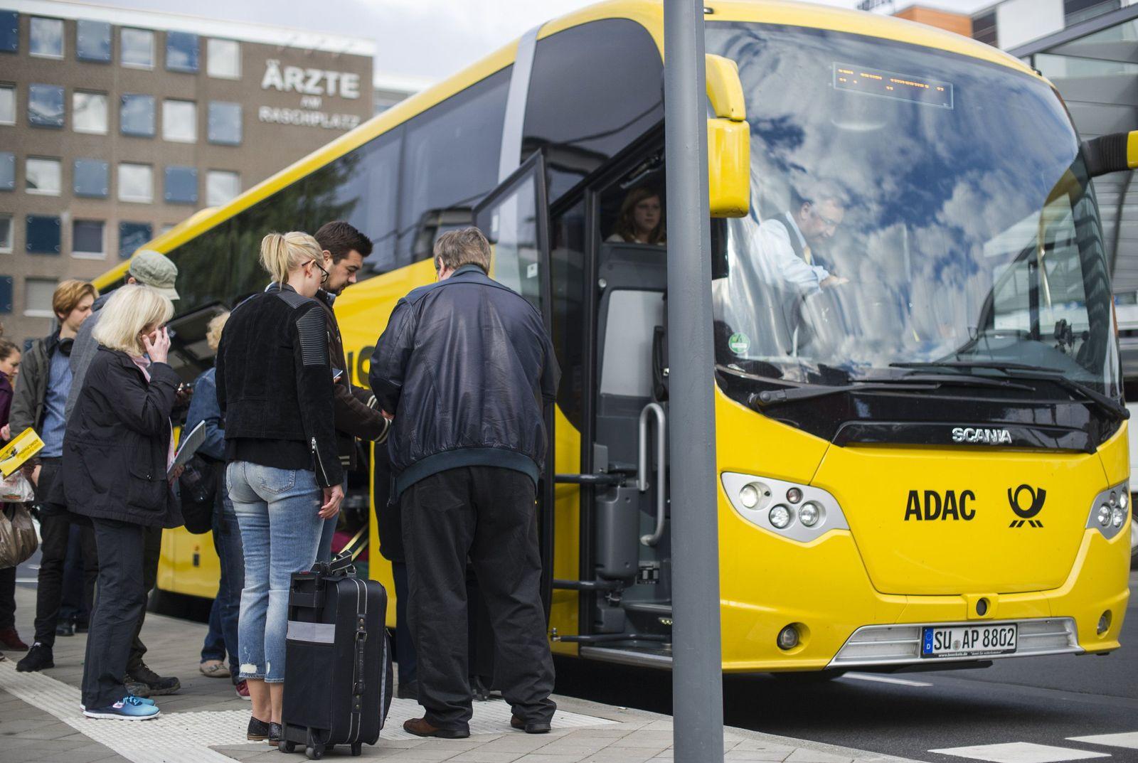 Bahnstreik / Fernbus