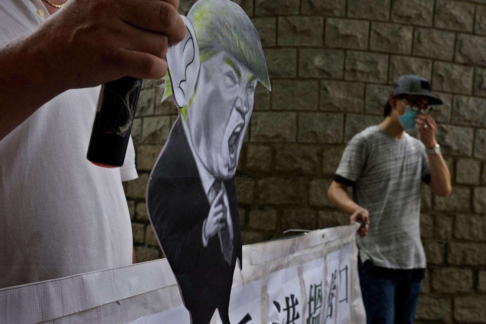 USA Machtkampf mit China