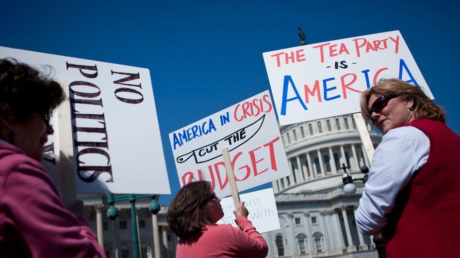 Protest von Tea-Party-Anhängern vor dem Kapitol (2011): Gezielt benachteiligt
