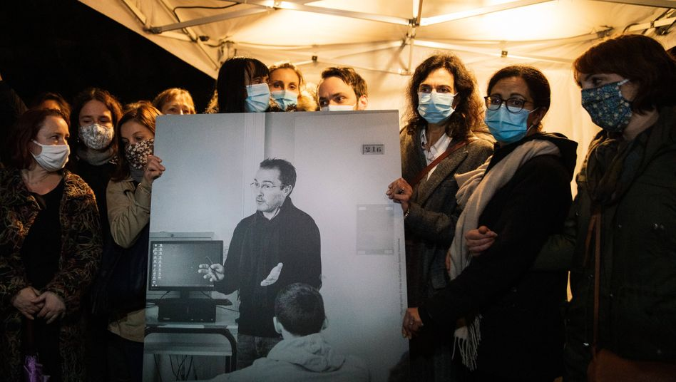 Trauer um den ermordeten Lehrer Samuel Paty