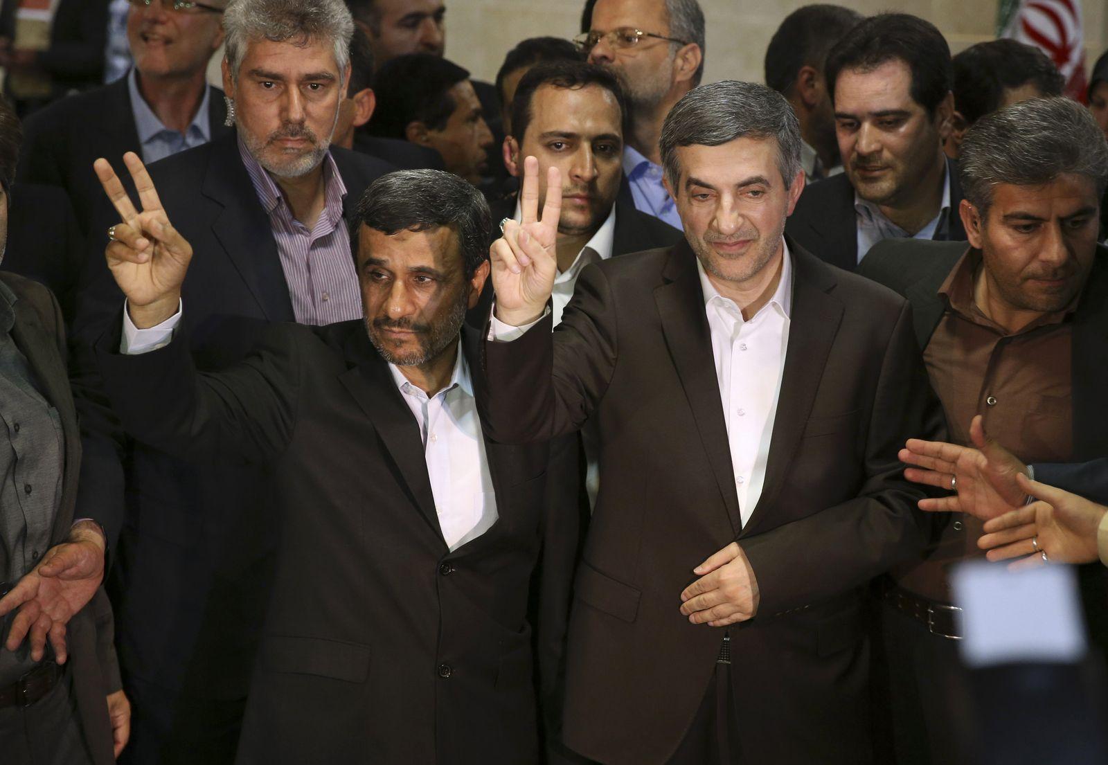 Mahmoud Ahmadinedschad/Rahim Maschai