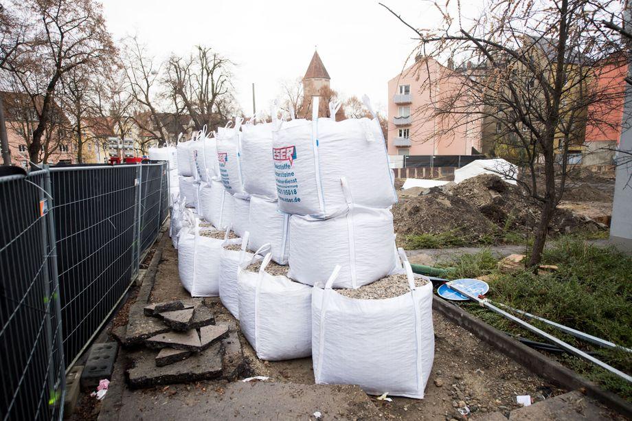 Augsburg Bombe Evakuierung