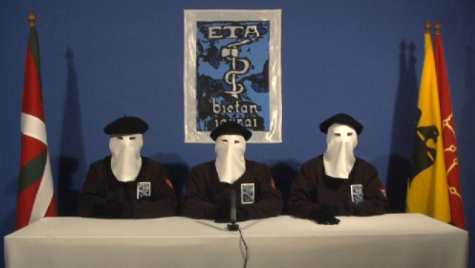 Waffenruhe: Spaniens Regierung misstraut Eta-Offerte