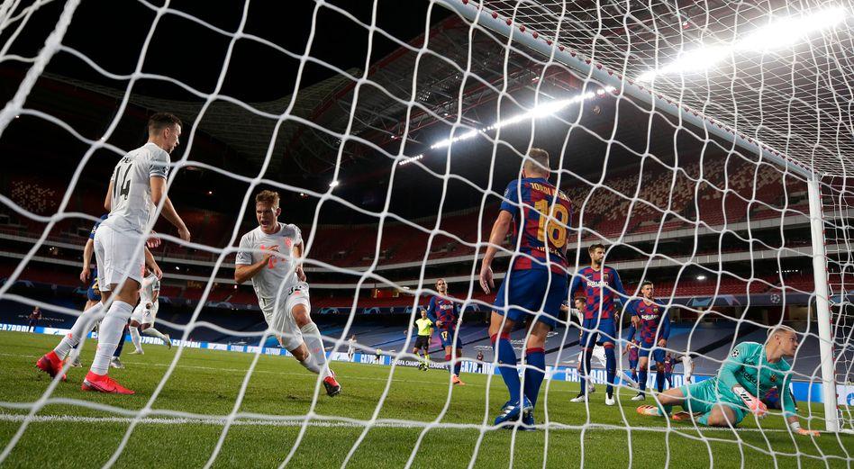 Bayern gegen Barcelona: Fußball auf Weltklasseniveau