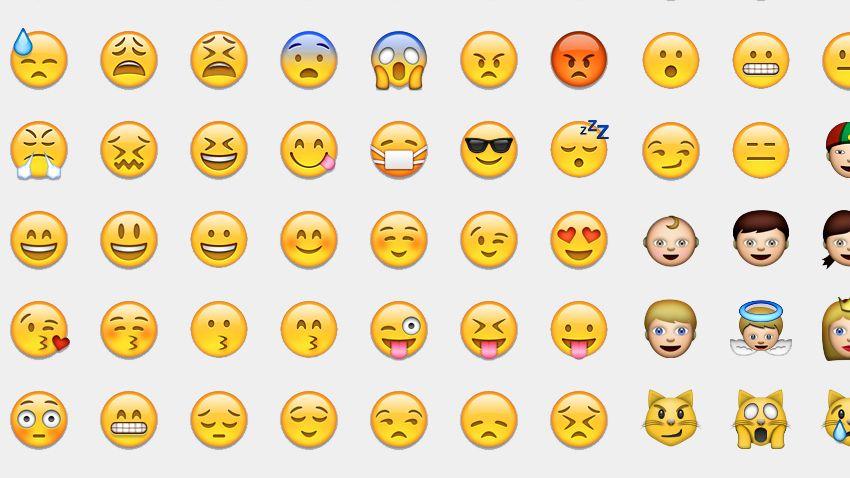 Ausdrucken smileys Emojis Bilder