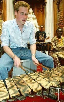 Afrika-Freund William (hier an seinem 21. Geburtstag)