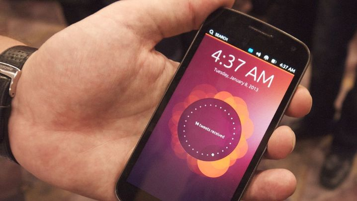 CES 2013: So gut funktioniert das Ubuntu-Handy
