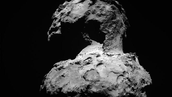Extreme Umwelt: So sieht es auf Komet Tschuri aus