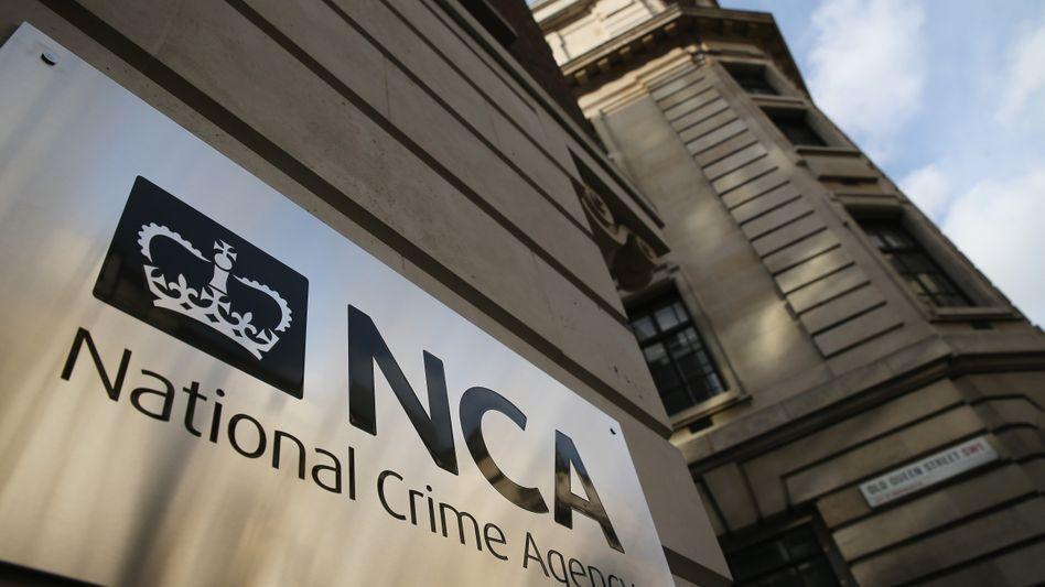Die National Crime Agency in London: Ermittler nehmen 660 mutmaßliche Pädophile fest