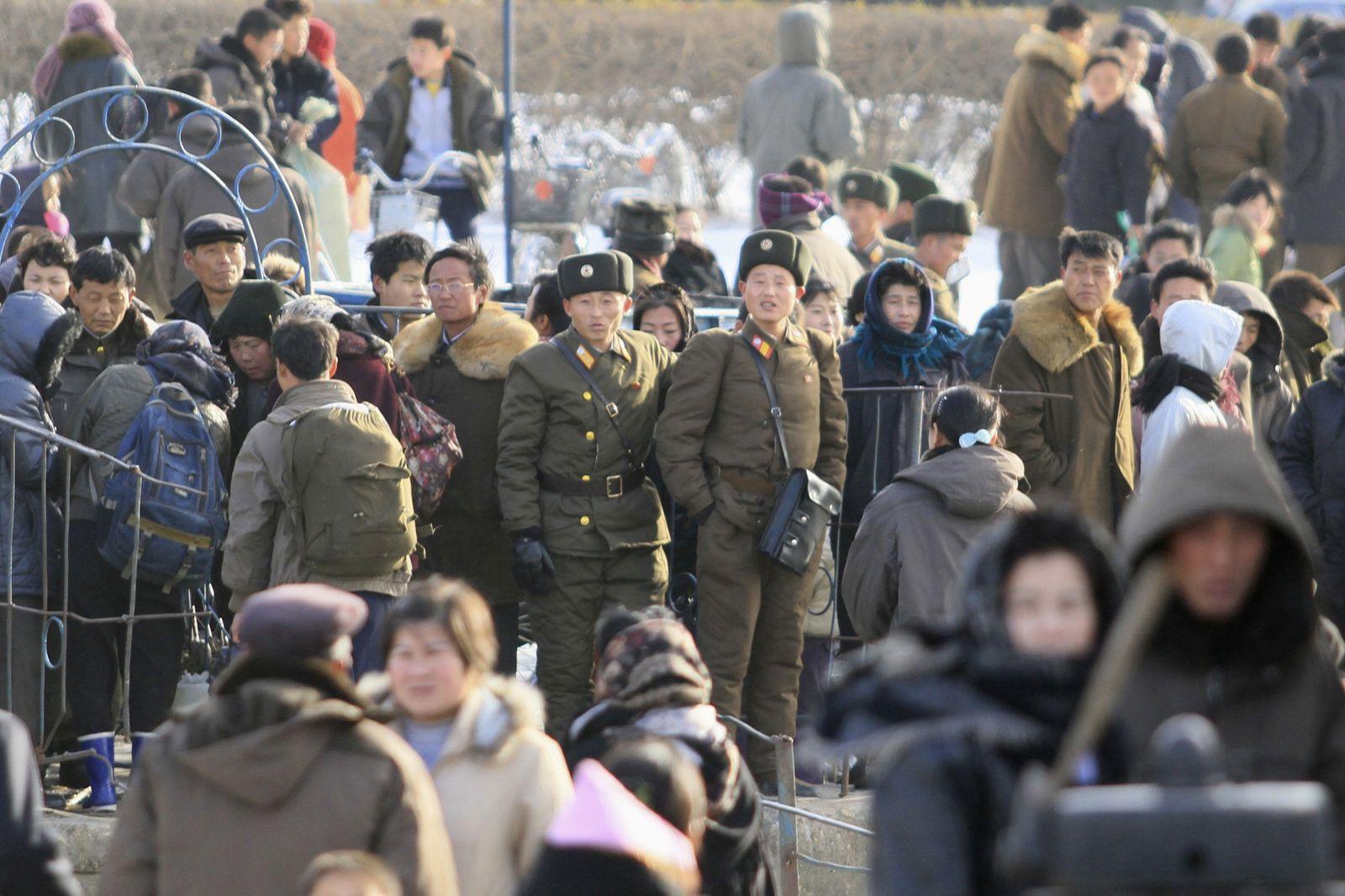 Konflikt / Nordkorea / Südkorea