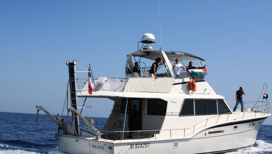 "Flottillenschiff ""Dignité - al-Karama"": Fest unter Kontrolle der Hamas?"