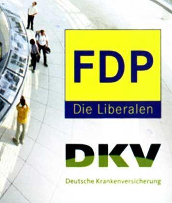 FDP-Prospekt: Vermischung von Politik- und Werbebotschaft