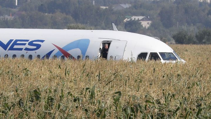 Flug Ural Airlines 178: Notlandung am Flughafen Schukowski