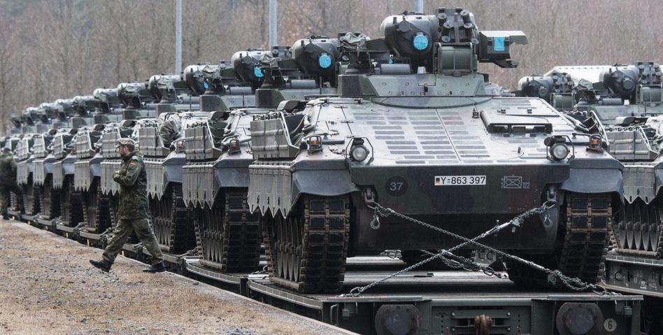 Transport deutscher Schützenpanzer nach Litauen: Willkommen im großen Papierkrieg der Nato